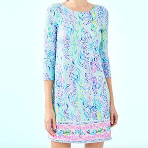 LILLY PULITZER OPHELIA SWING DRESS, Blue Oasis
